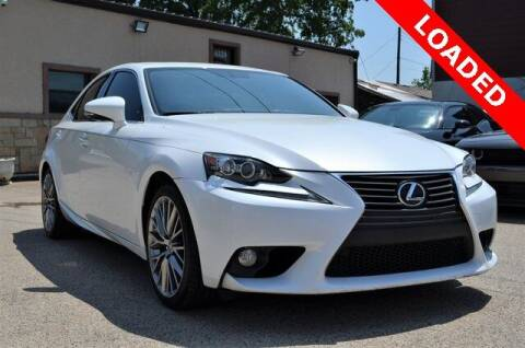 2014 Lexus IS 250 for sale at LAKESIDE MOTORS, INC. in Sachse TX
