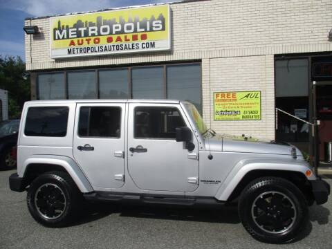 2012 Jeep Wrangler Unlimited for sale at Metropolis Auto Sales in Pelham NH