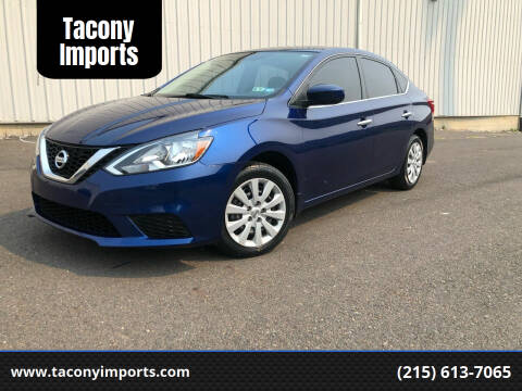 2017 Nissan Sentra for sale at Tacony Imports in Philadelphia PA