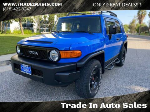 2008 Toyota FJ Cruiser for sale at Trade In Auto Sales in Van Nuys CA