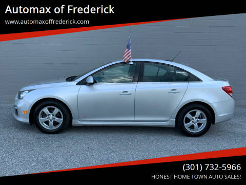 2016 Chevrolet Cruze Limited for sale at Automax of Frederick in Frederick MD
