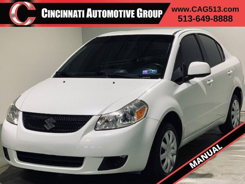 2013 Suzuki SX4 for sale at Cincinnati Automotive Group in Lebanon OH