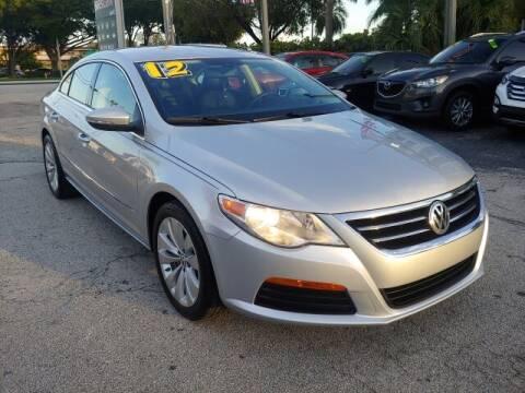 2012 Volkswagen CC for sale at Brascar Auto Sales in Pompano Beach FL