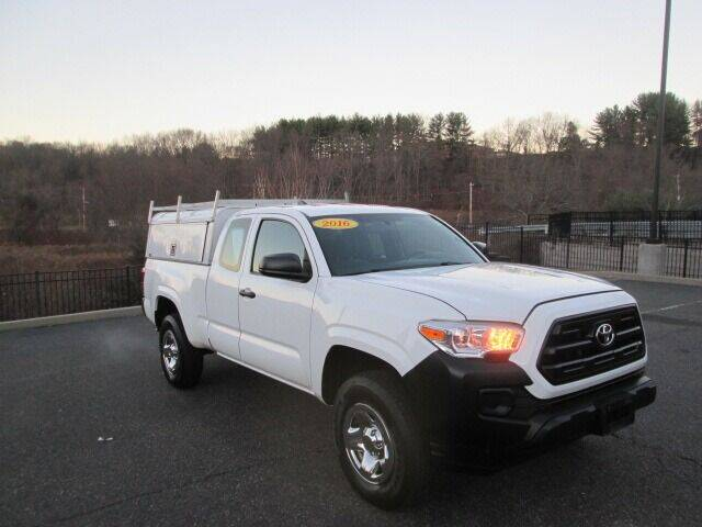 2016 Toyota Tacoma for sale at Tri Town Truck Sales LLC in Watertown CT