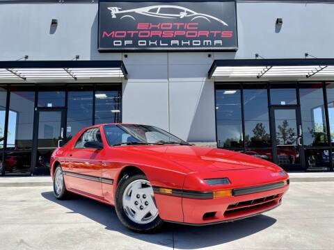 1987 Mazda RX-7 for sale at Exotic Motorsports of Oklahoma in Edmond OK