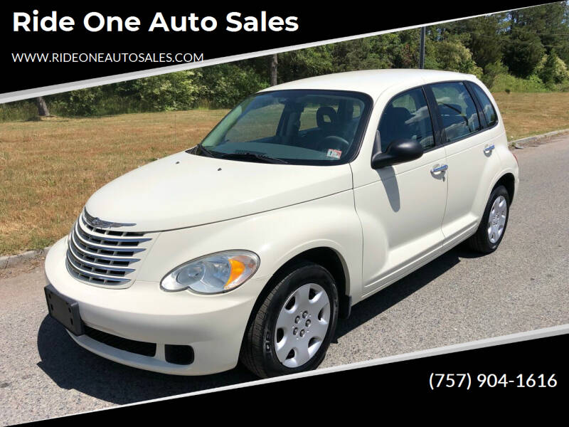 2007 Chrysler PT Cruiser for sale at Ride One Auto Sales in Norfolk VA