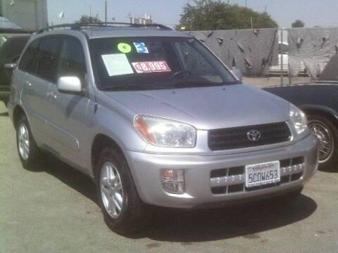 2003 Toyota RAV4 for sale at Valley Auto Sales & Advanced Equipment in Stockton CA