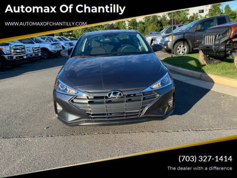 2020 Hyundai Elantra for sale at Automax of Chantilly in Chantilly VA