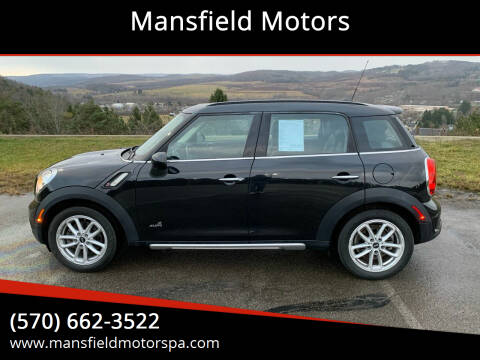 2015 MINI Countryman for sale at Mansfield Motors in Mansfield PA