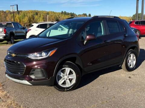 2021 Chevrolet Trax for sale at STATELINE CHEVROLET BUICK GMC in Iron River MI