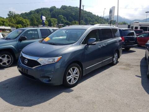 2012 Nissan Quest for sale at Ellis Auto Sales and Service in Middlesboro KY