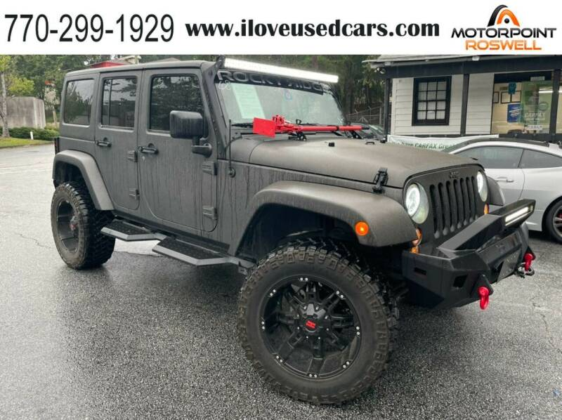2018 Jeep Wrangler JK Unlimited for sale in Roswell, GA