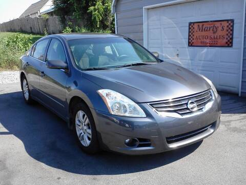 2012 Nissan Altima for sale at Marty's Auto Sales in Lenoir City TN