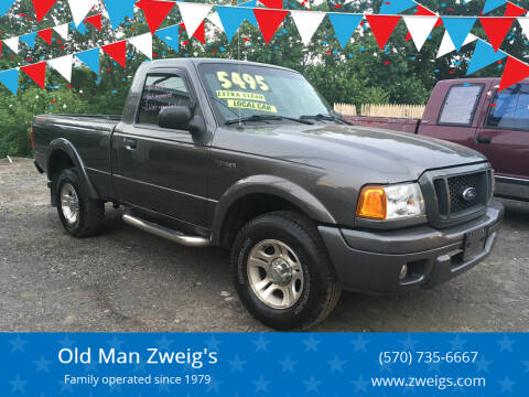 2004 Ford Ranger for sale at Old Man Zweig's in Plymouth Township PA