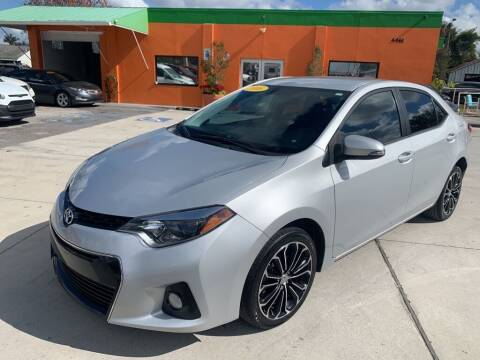 2016 Toyota Corolla for sale at Galaxy Auto Service, Inc. in Orlando FL