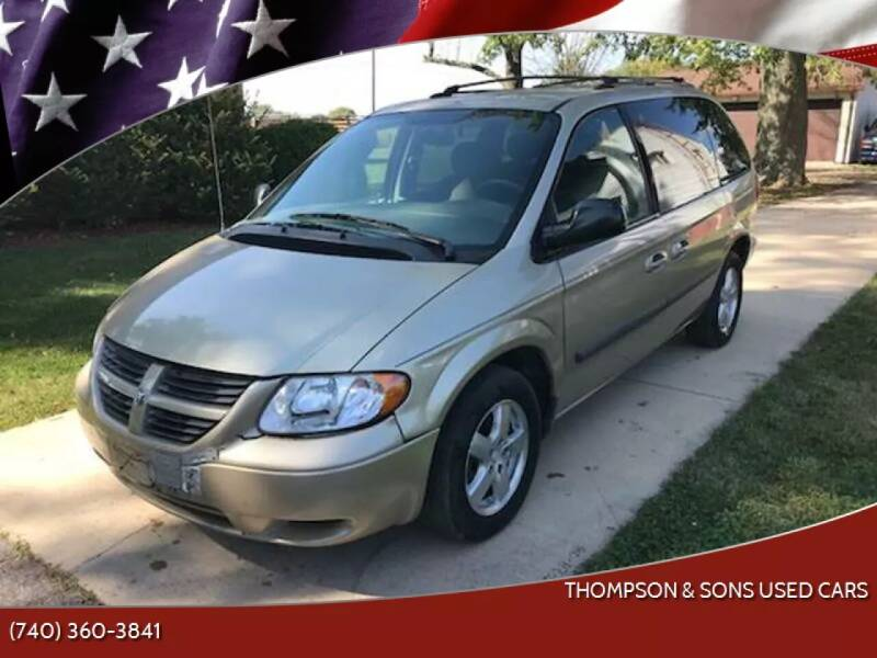 2006 Dodge Caravan for sale at THOMPSON & SONS USED CARS in Marion OH