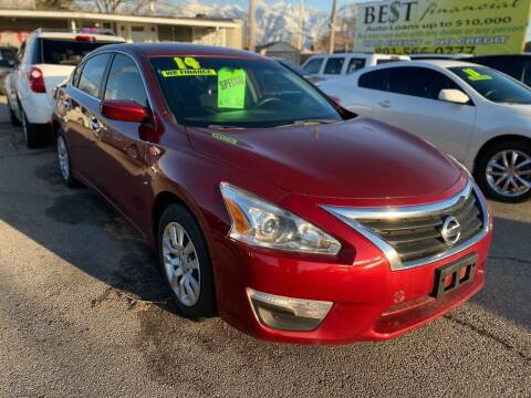 2014 Nissan Altima for sale at Choice Motors of Salt Lake City in West Valley  City UT
