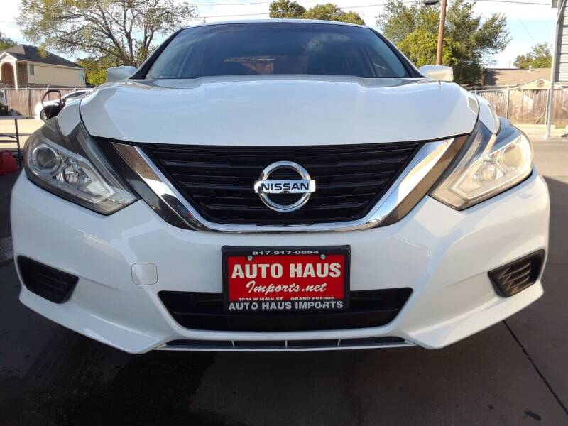2016 Nissan Altima for sale at Auto Haus Imports in Grand Prairie TX