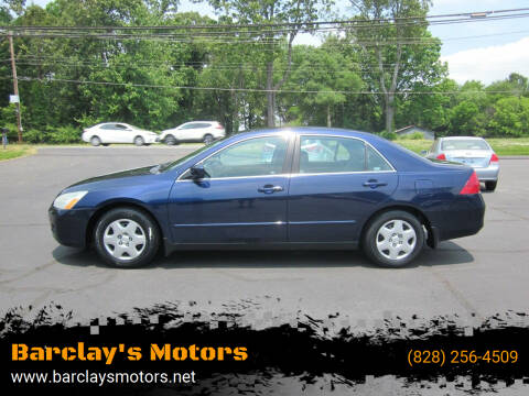 2007 Honda Accord for sale at Barclay's Motors in Conover NC