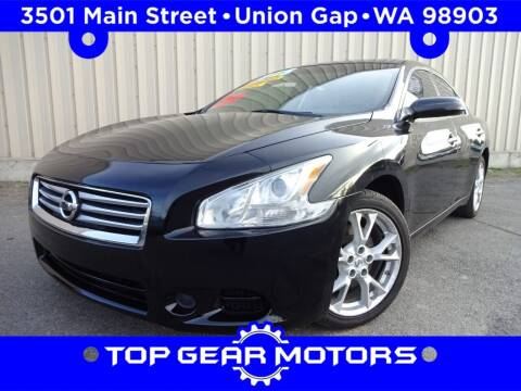 2014 Nissan Maxima for sale at Top Gear Motors in Union Gap WA
