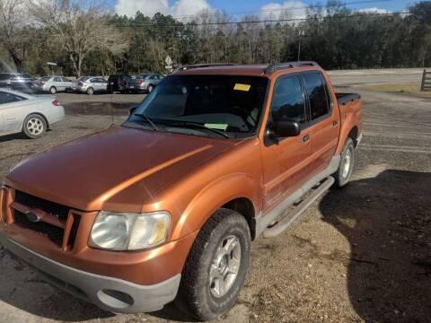 2001 Ford Explorer Sport Trac for sale at Ebert Auto Sales in Valdosta GA
