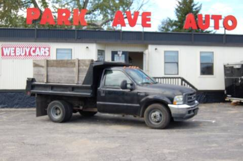 2003 Ford F-350 Super Duty for sale at Park Ave Auto Inc. in Worcester MA