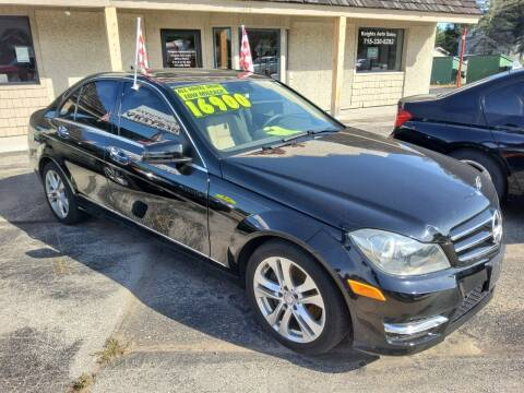 2013 Mercedes-Benz C-Class for sale at Knights Autoworks in Marinette WI