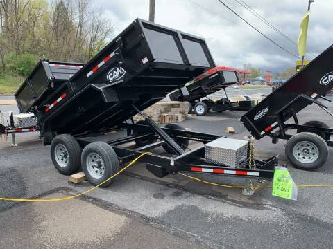 2020 CAM SUPERLINE 6X10 10K Dump Trailer for sale at Smart Choice 61 Trailers in Shoemakersville PA