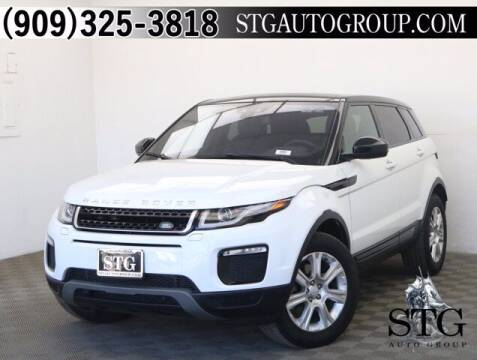 2017 Land Rover Range Rover Evoque for sale at STG Auto Group in Montclair CA
