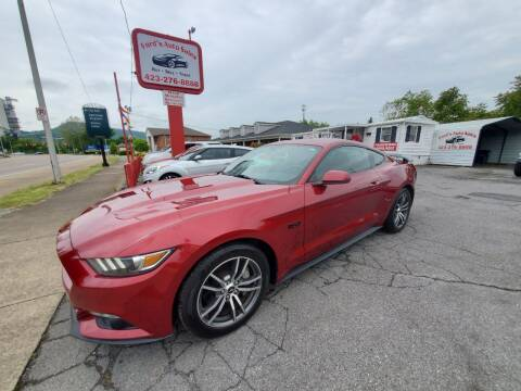2015 Ford Mustang for sale at Ford's Auto Sales in Kingsport TN