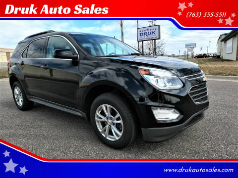 2016 Chevrolet Equinox for sale at Druk Auto Sales in Ramsey MN