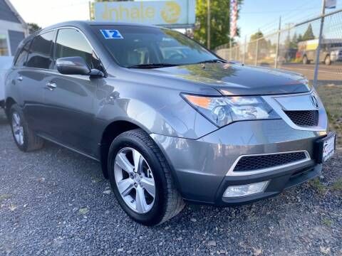 2012 Acura MDX for sale at Universal Auto INC in Salem OR