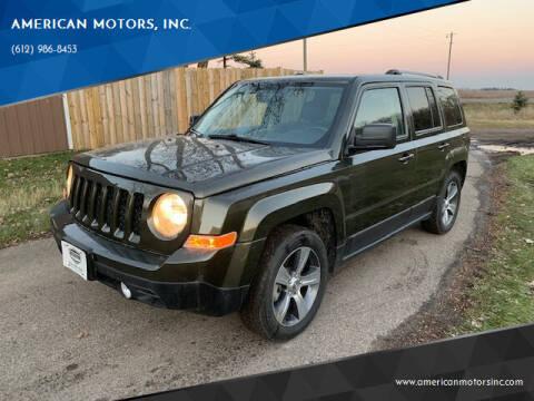 2016 Jeep Patriot for sale at American Motors, Inc. in Farmington MN