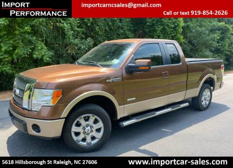 2012 Ford F-150 for sale at Import Performance Sales in Raleigh NC