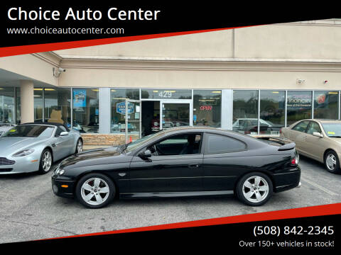 2006 Pontiac GTO for sale at Choice Auto Center in Shrewsbury MA