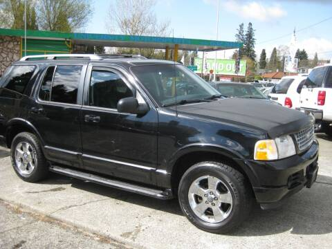 2003 Ford Explorer for sale at UNIVERSITY MOTORSPORTS in Seattle WA