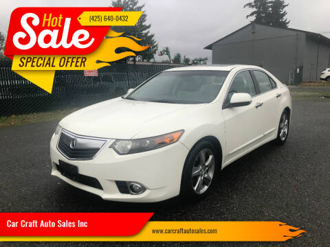 2011 Acura TSX for sale at Car Craft Auto Sales Inc in Lynnwood WA