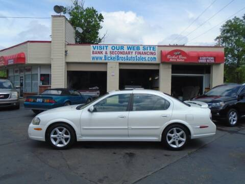 2003 Nissan Maxima for sale at Bickel Bros Auto Sales, Inc in Louisville KY