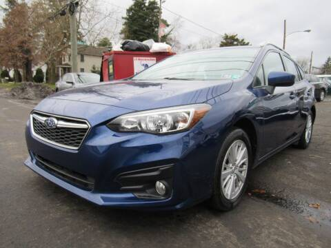 2017 Subaru Impreza for sale at PRESTIGE IMPORT AUTO SALES in Morrisville PA