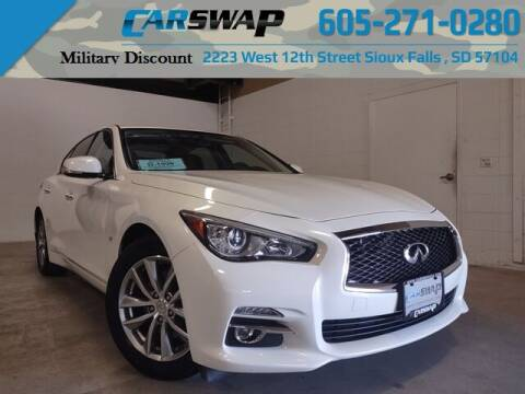 2015 Infiniti Q50 for sale at CarSwap in Sioux Falls SD