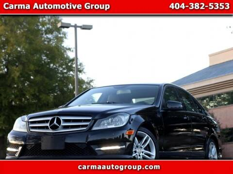 2013 Mercedes-Benz C-Class for sale at Carma Auto Group in Duluth GA