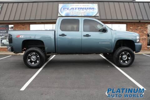 2010 Chevrolet Silverado 1500 for sale at Platinum Auto World in Fredericksburg VA