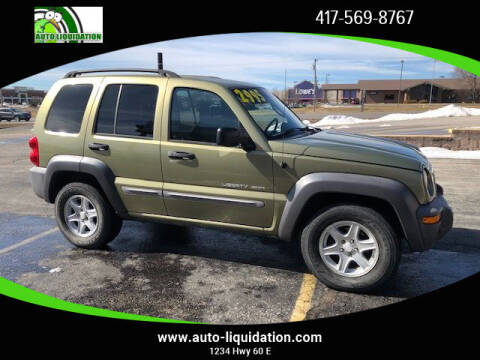 2003 Jeep Liberty for sale at Auto Liquidation in Republic MO