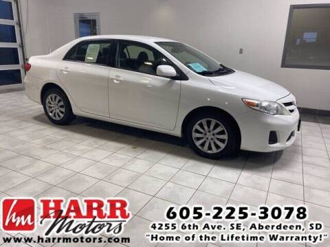 2012 Toyota Corolla for sale at Harr's Redfield Ford in Redfield SD