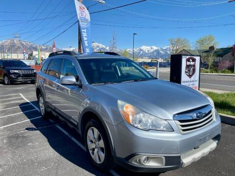 2012 Subaru Outback for sale at The Car-Mart in Murray UT
