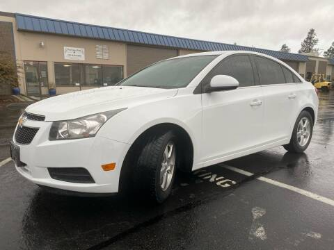 2014 Chevrolet Cruze for sale at Exelon Auto Sales in Auburn WA