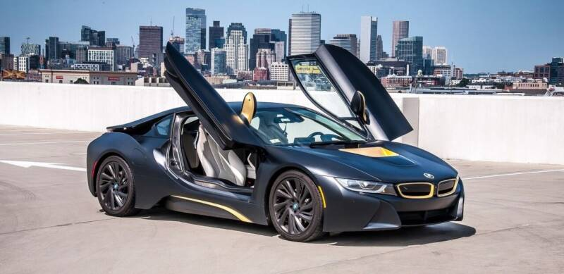 2016 BMW i8 for sale at Elmwood D+J Auto Sales in Agawam MA