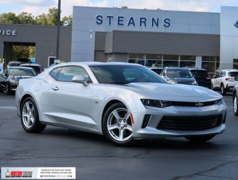 2016 Chevrolet Camaro for sale at Stearns Ford in Burlington NC