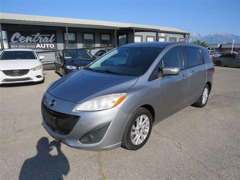 2014 Mazda MAZDA5 for sale at Central Auto in South Salt Lake UT