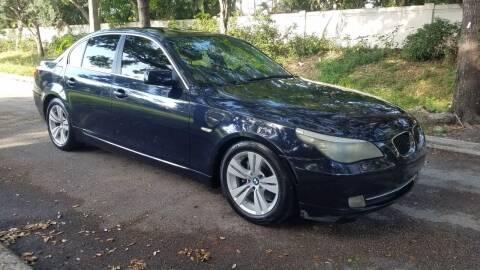 2009 BMW 5 Series for sale at DELRAY AUTO MALL in Delray Beach FL